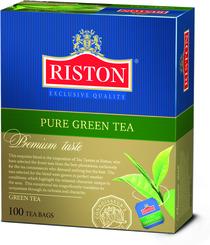 Чай зеленый Riston 100 пакетов