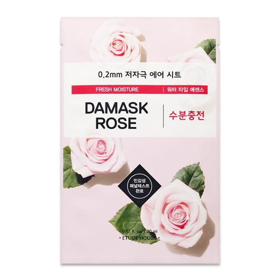 Тканевая маска для лица Etude House с экстрактом дамасской розы