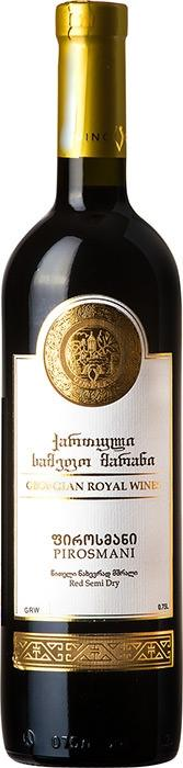 Вино Пиросмани / Pirosmani,  Саперави,  Красное Полусухое, Грузия