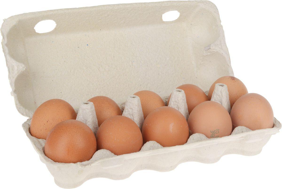 Яйцо столовое С1 мраморное  п/ф Пошехонская (яркий желток) 10 штук