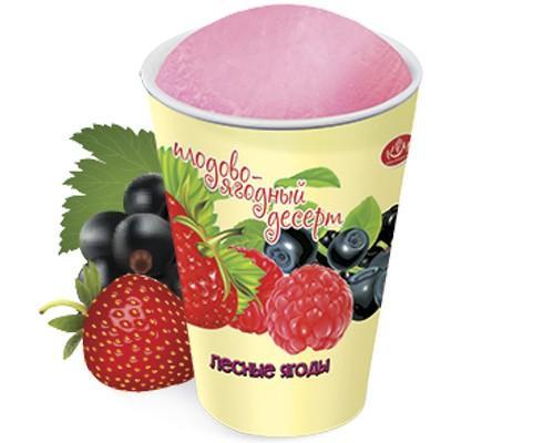 Мороженое Кубань-Мороженое Щербет Лесные ягоды