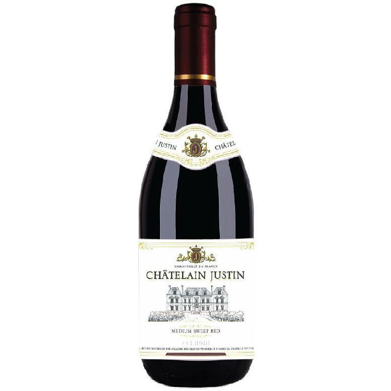 Вино Chatelain Justin красное сухое столовое 11%