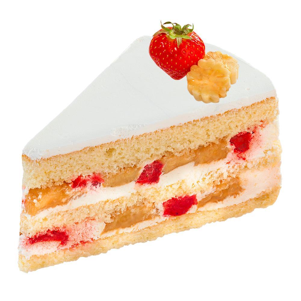 Пирожное Слоянка нежный крем и конфитюр с кусочками фруктов