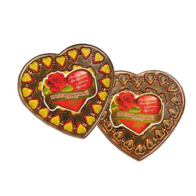 Конфеты Атаг Шексна Сердце вафли и арахис