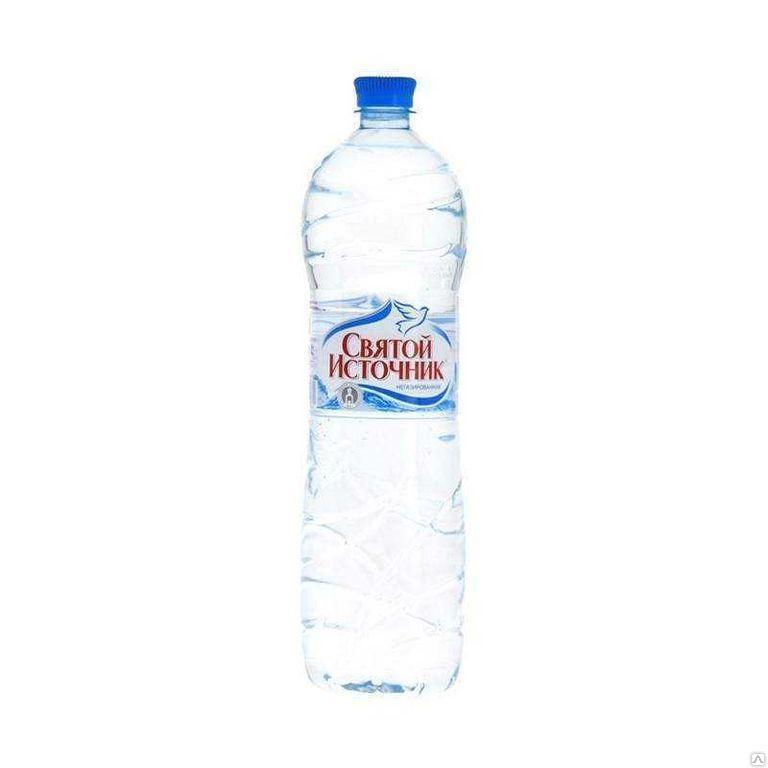 Вода минеральная Святой источник негазированная