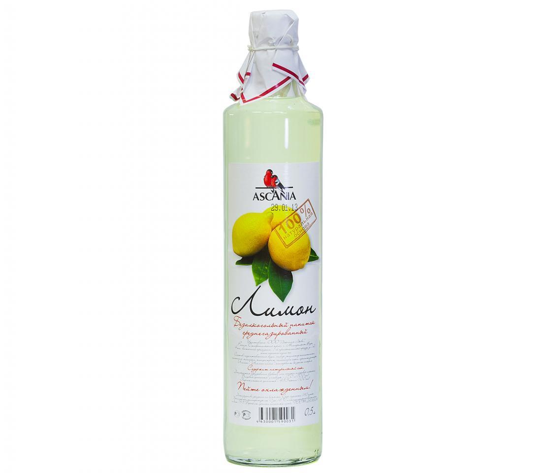 Лимонад Ascania Лимон