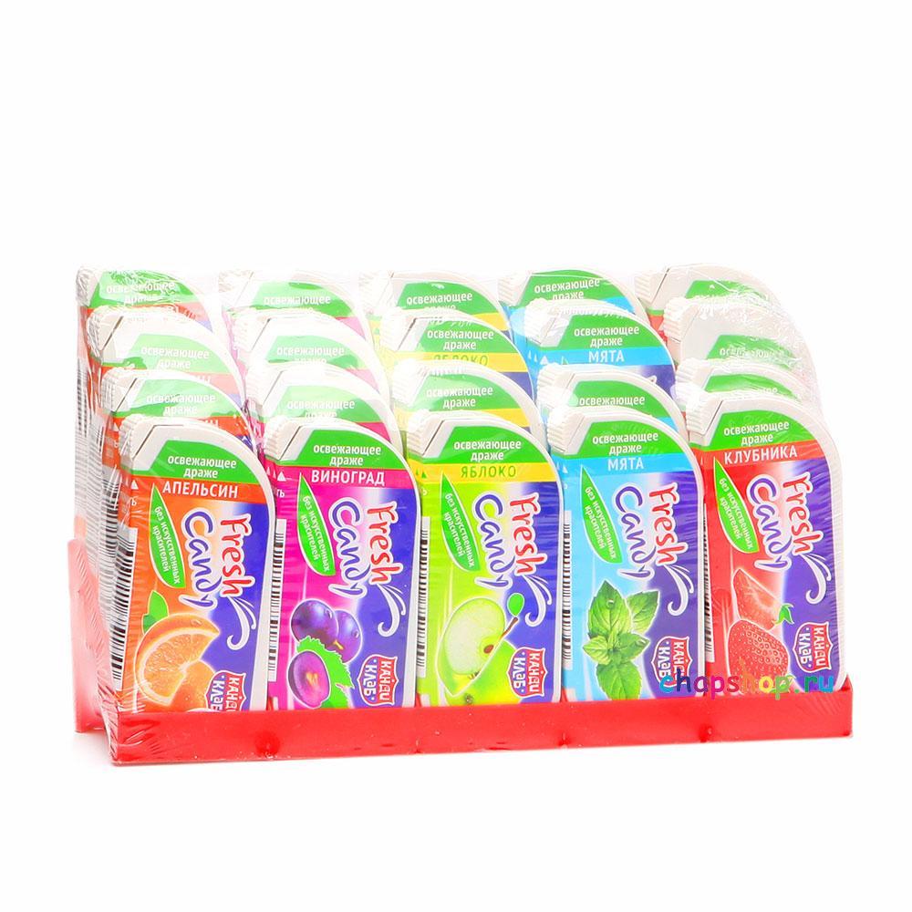 Драже Fresh Candy освежающее