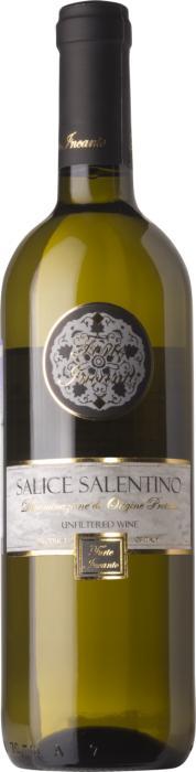 Вино Форте Инканто Саличе Салентино Бьянко / Forte Incanto Salice Salentino Bianco,  Шардоне, Совиньон Блан,  Белое Сухое, Италия