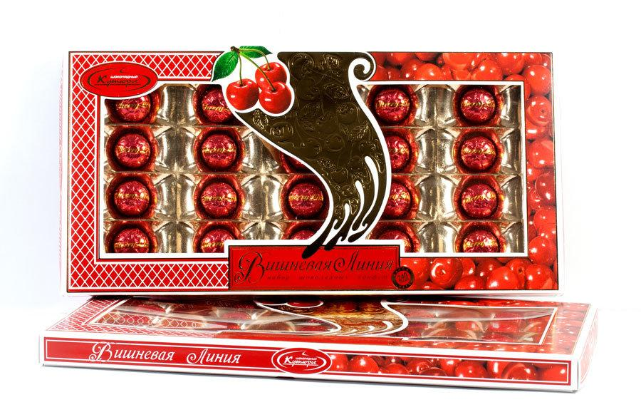 Конфеты Шоколадный Кутюрье Вишневая линия
