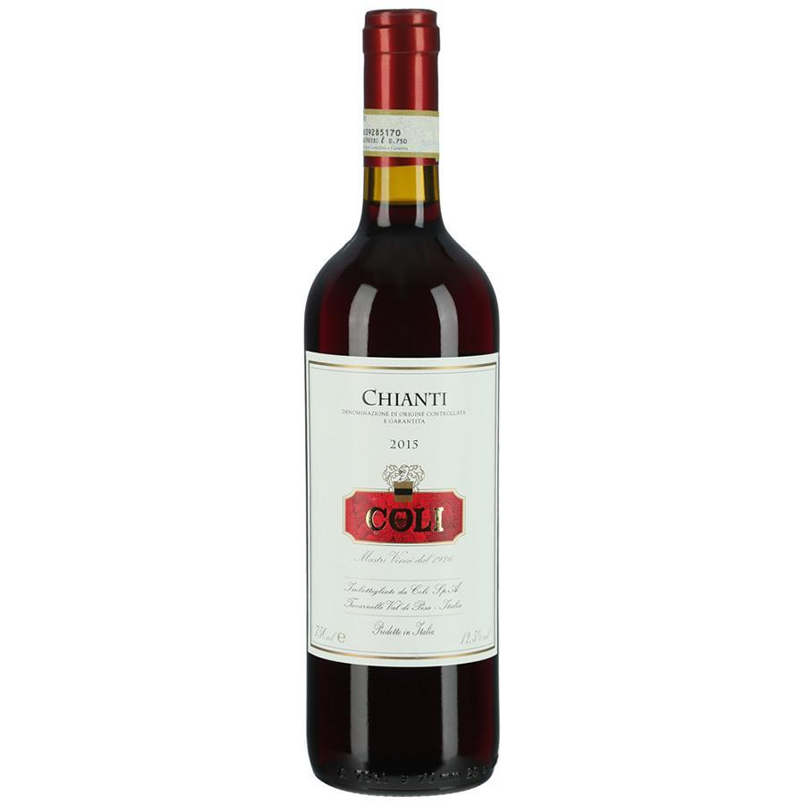 Вино Coli Chianti красное сухое 12,5%