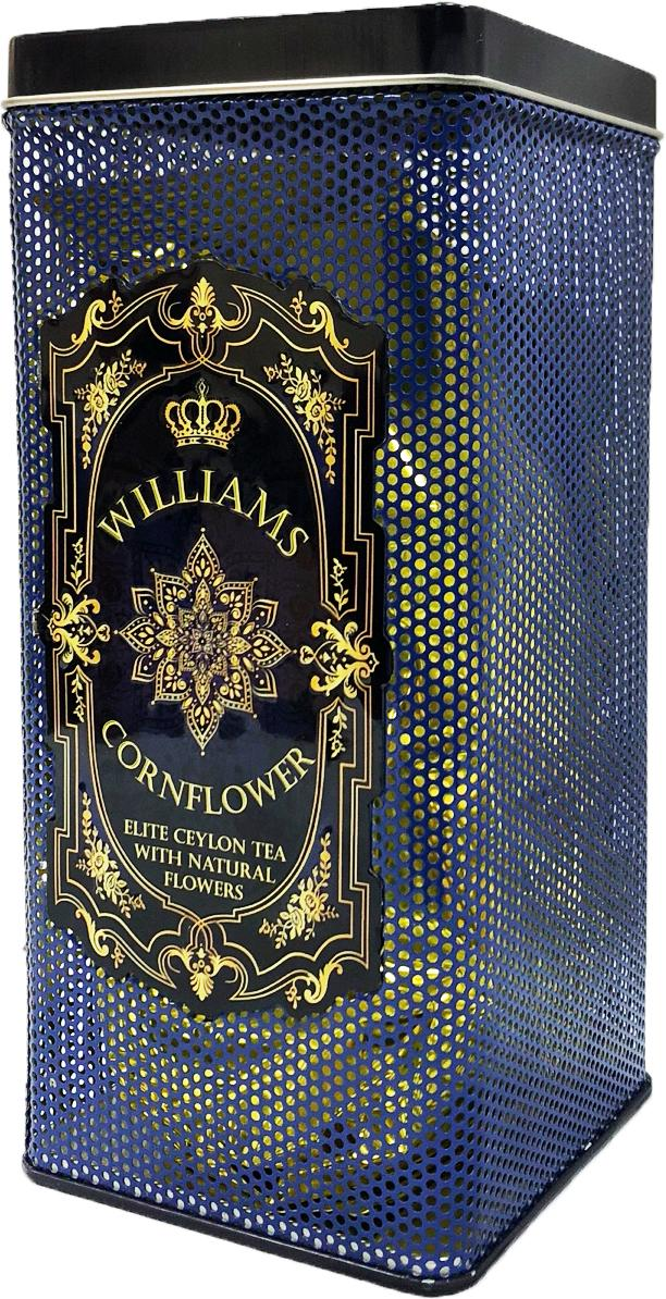 Чай Williams Cornflower черный