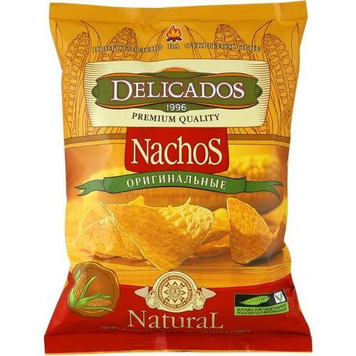 Чипсы кукурузные Delicados Nachos оригинальные