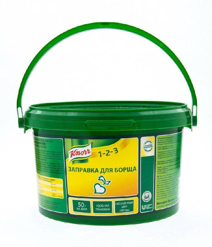 KNORR Заправка для борща Сухая смесь (1,6 кг)