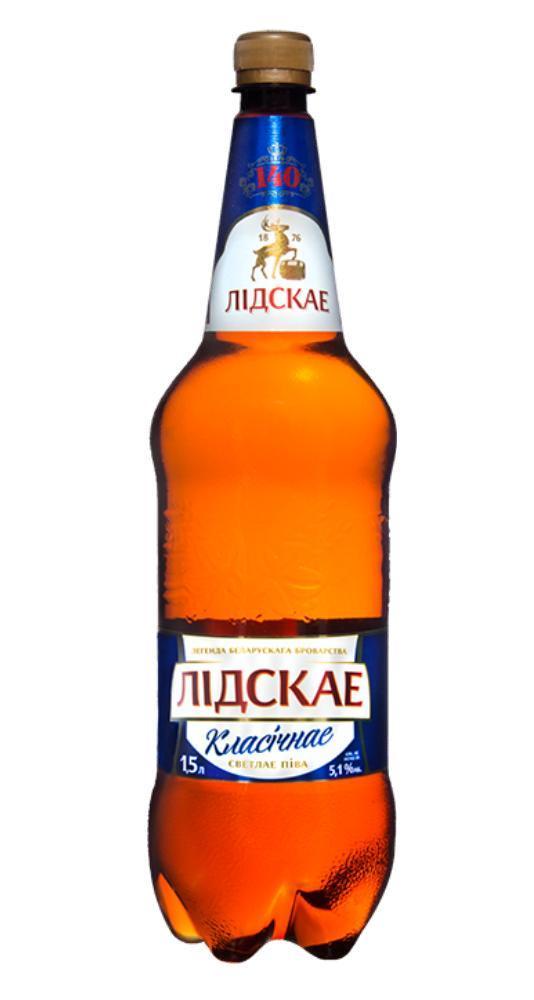 Пиво Лидское классическое  1,5 л.