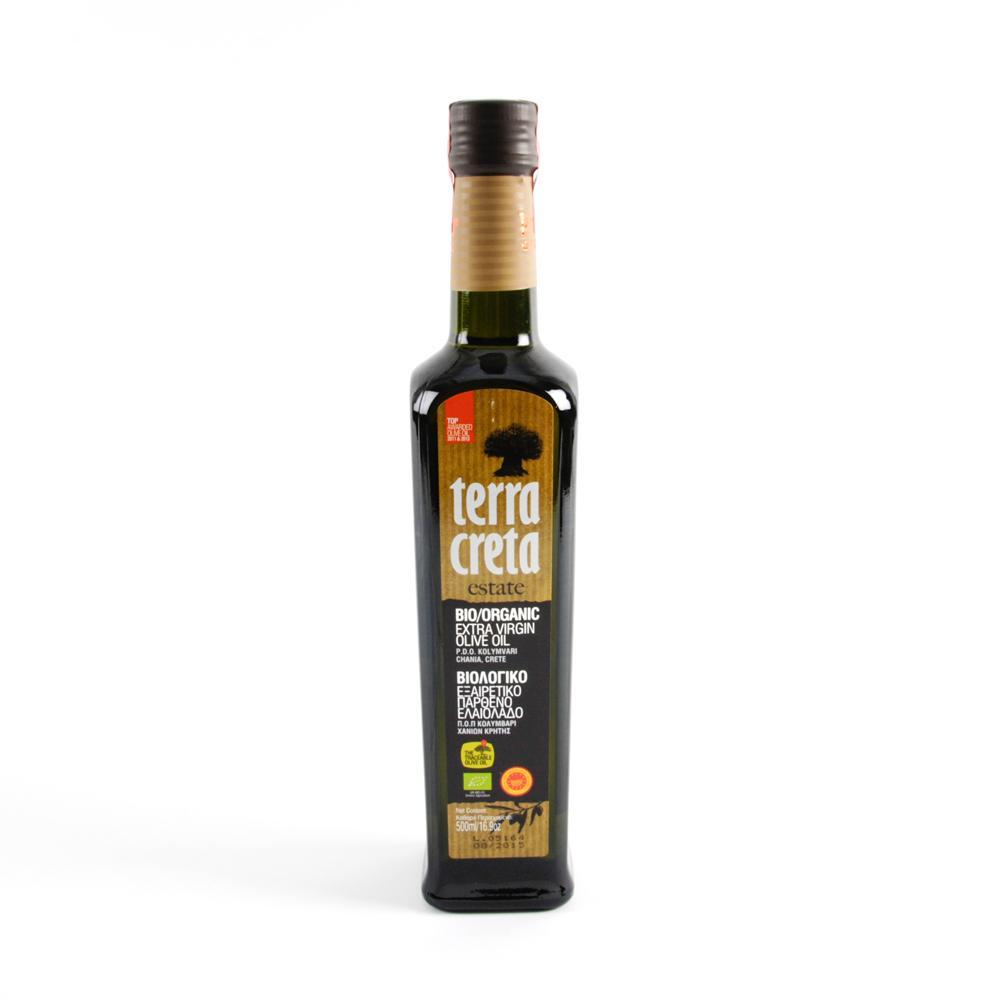 Масло Terra Creta Extra Virgin Оливковое органическое