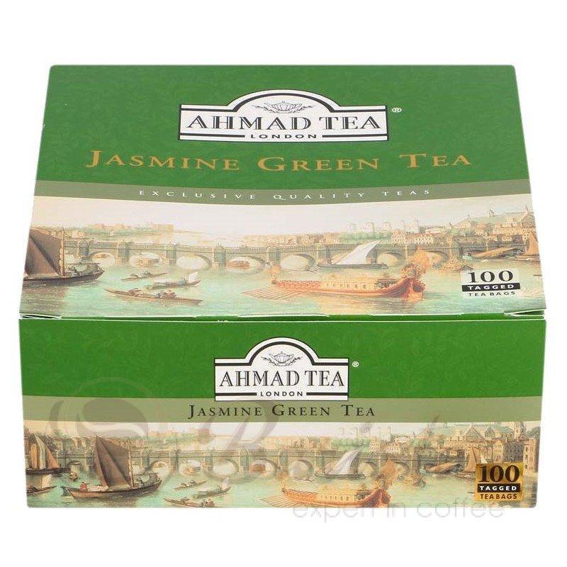 Чай Ahmad Tea Jasmine Green Tea зеленый в пакетиках