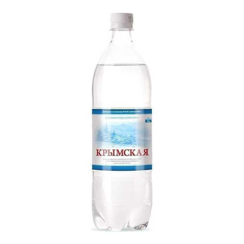 Вода питьевая Крым Крымская Лечебно-столовая негазированная