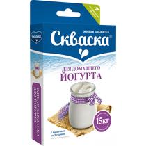 Закваска Скваска живая для йогурта 5 пак