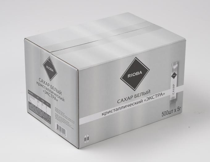 Сахар кристаллический Rioba Экстра, 500шт