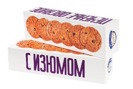 Печенье Полет Овсяное Классическое с изюмом