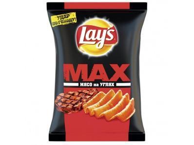 Чипсы Lay's Мясо на углях картофельные
