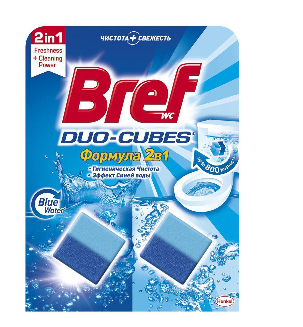 Средство для унитаза Bref Duo-Cubes 2в1