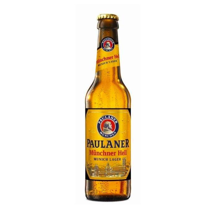 Пиво Paulaner Munchner Hell светлое фильтрованное 4,9%