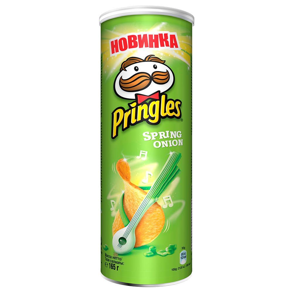 Чипсы Pringles Spring Onion картофельные