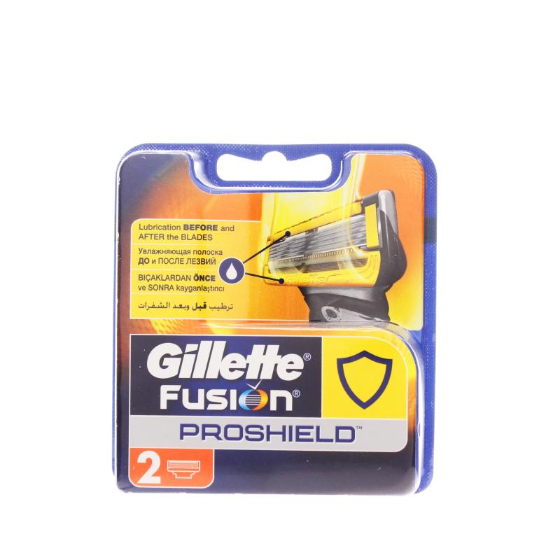 Кассеты Gillette Fusion ProShield для бритвенного станка с пятью лезвиями