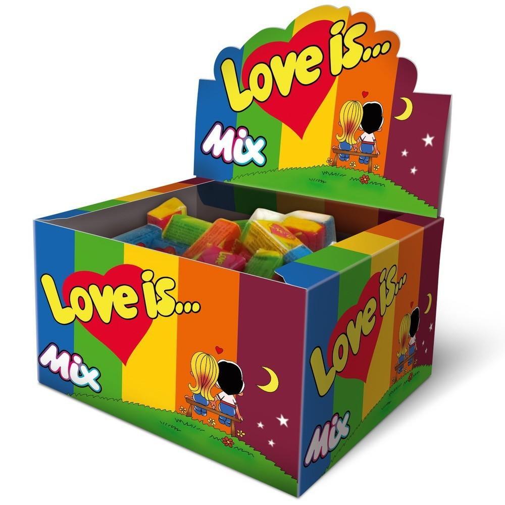 Жевательная резинка Love is Mix