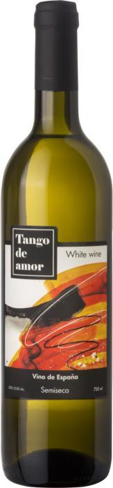 Вино Танго де Амор / Tango de Amour white semi-dry,  Ассамбляж белых сортов,  Белое Полусухое, Россия
