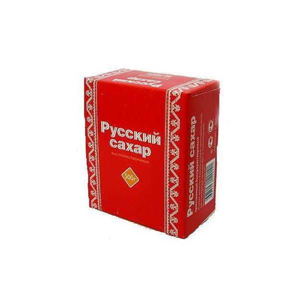 Сахар Русский сахар рафинад прессованный быстрорастворимый