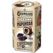 Конфеты Grondard Марципан с черносливом 140 г.