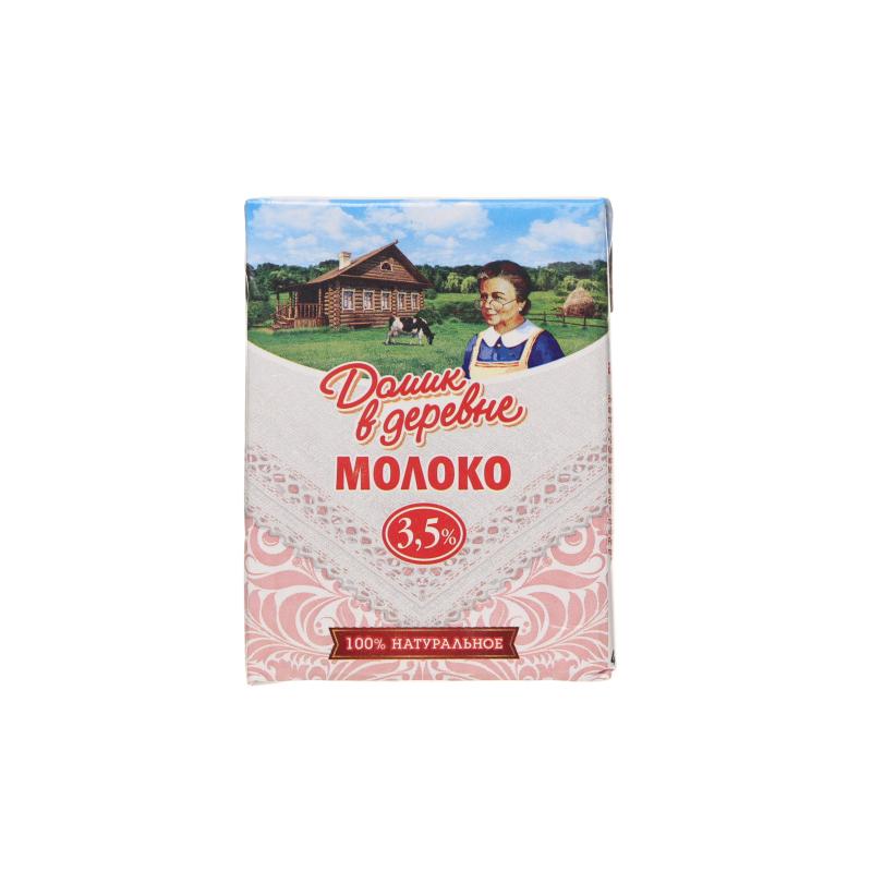 Молоко Домик в Деревне ультрап 3.5 %