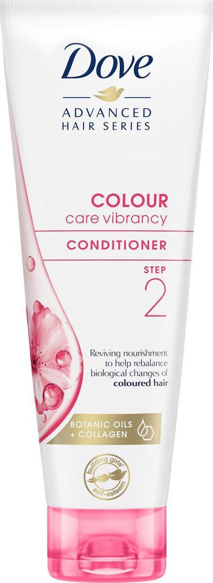 Кондиционер Dove Colour care vibrancy Для окрашенных волос