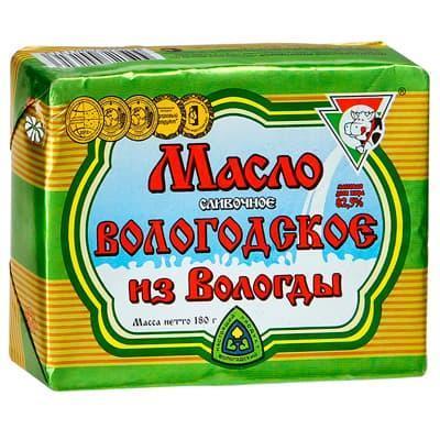 Масло Традиционное Из Вологды 82,5% ОУМЗ