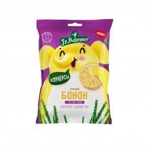 Мини-хлебцы Dr. Korner хрустящие рисовые с бананом