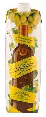 Напиток винный полусладкий Ленты Шардоне Крымское полусладкий белый 11%