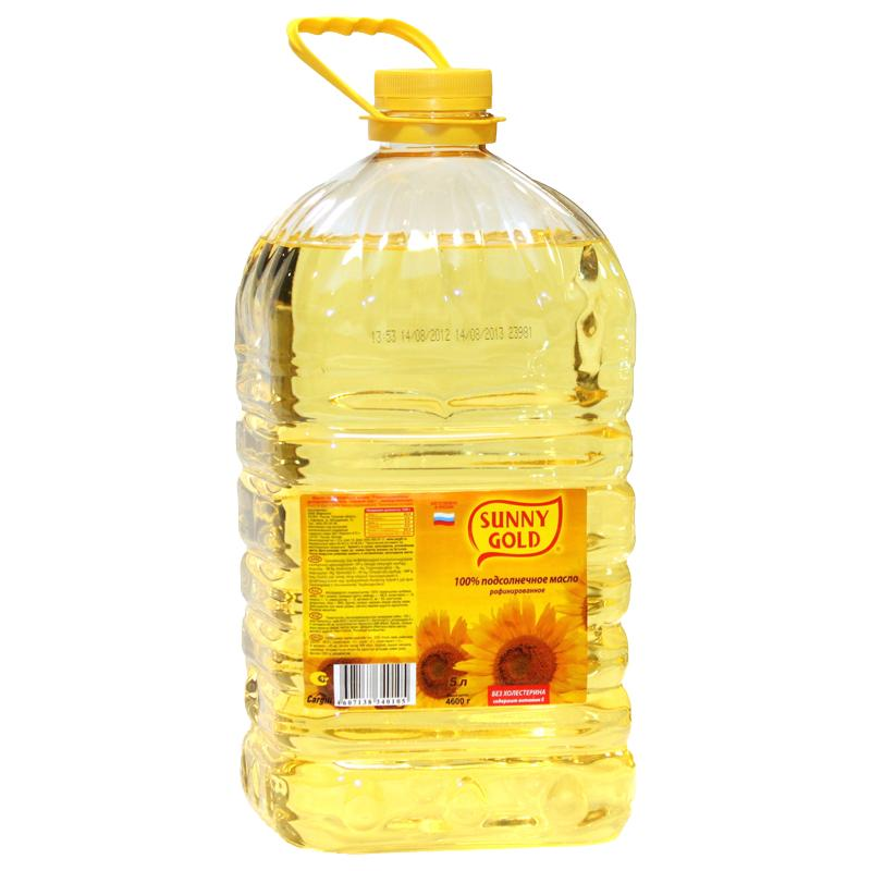 Масло Sunny Gold Подсолнечное