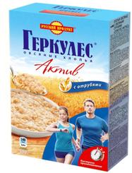 Геркулес Русский продукт Актив с овсян.отрубями 500г x 12
