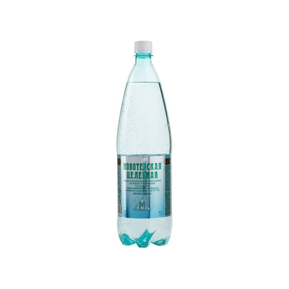 Вода питьевая минеральная Новотерская Целебная лечебно-столовая