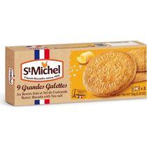Печенье St Michel сливочное с морской солью 150 гр