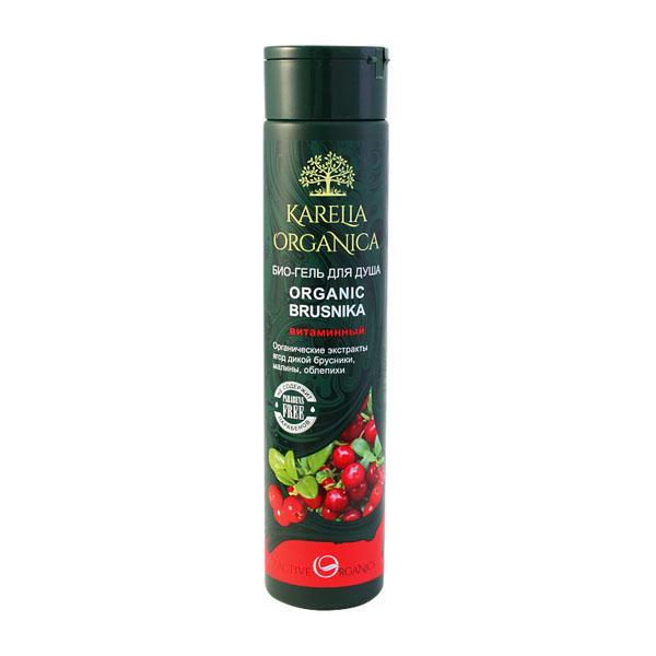 Гель для душа Karelia Organica Organic Brusnika Витаминный
