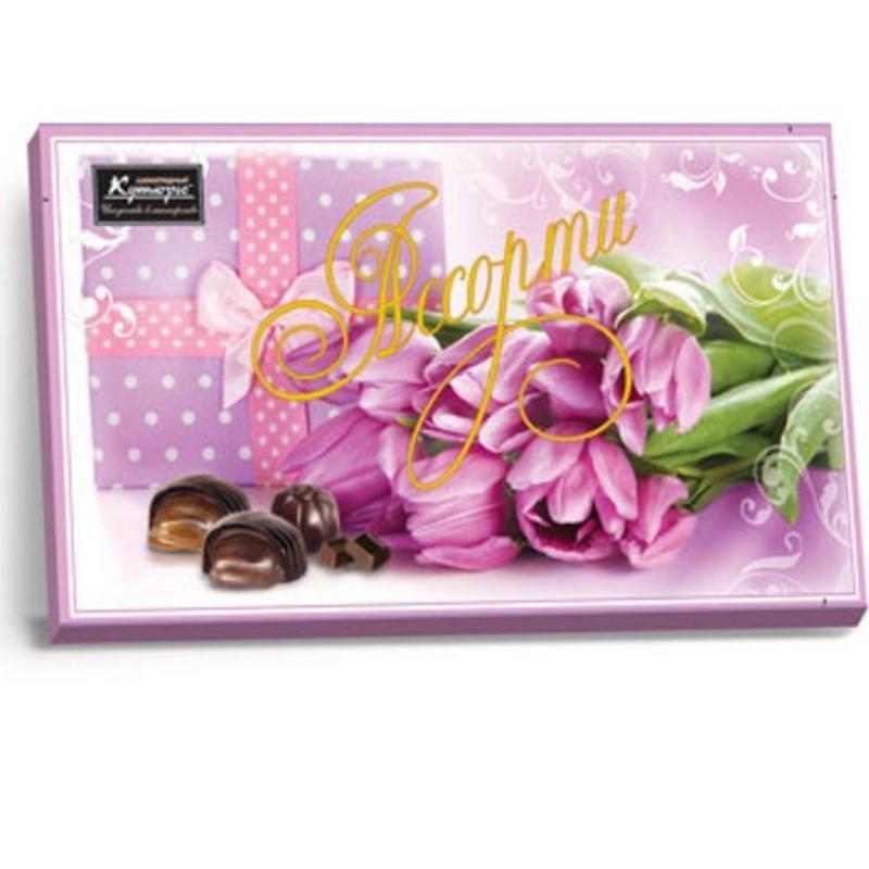 Конфеты Кутюрье Тюльпаны шоколадные