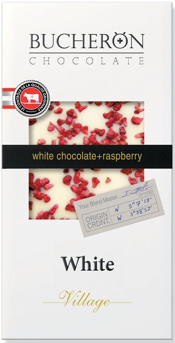 Шоколад Bucheron белый с малиной
