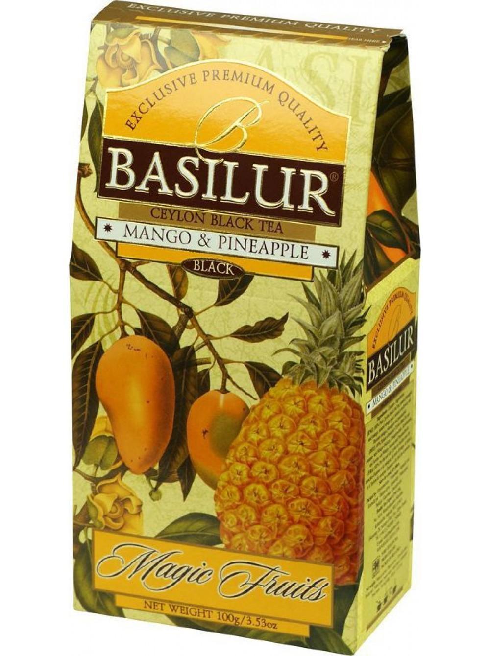 Чай Basilur Манго и ананас