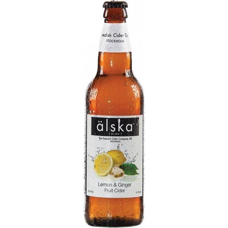Сидр Alska Lemon & Ginger 4%