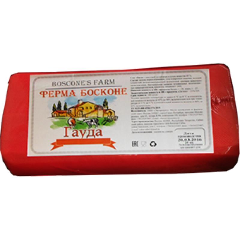 Сычужный продукт Ферма Босконе Гауда 45 %, Россия