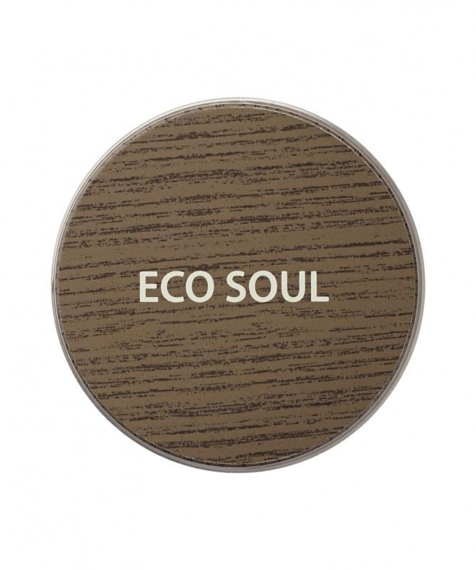 Тени для век сияющие The Saem Eco Soul Glam Eyes 01 Gold Fizz