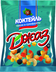 Смесь Джаз Коктейль орехов и сухофруктов